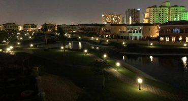 solar garden light for park