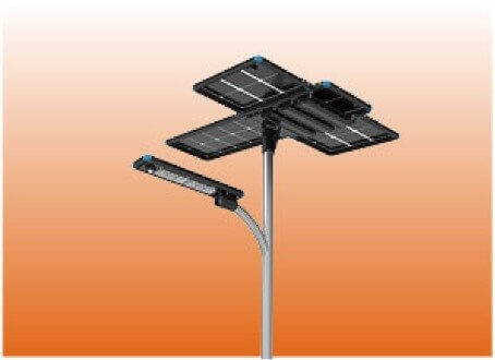 additional solar panel for solar street light