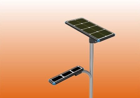 all in two solar street light