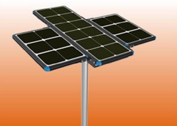 solar panel extensible