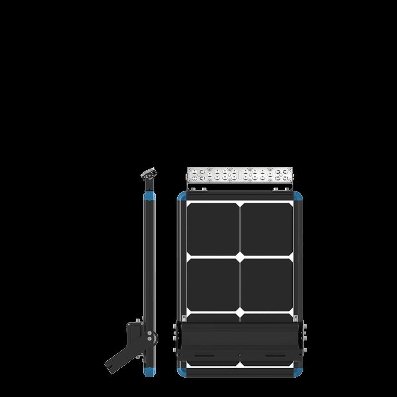 solar flood light for billboard