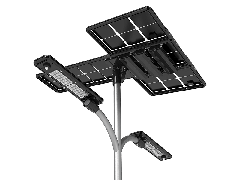 double-arm-solar-street-light