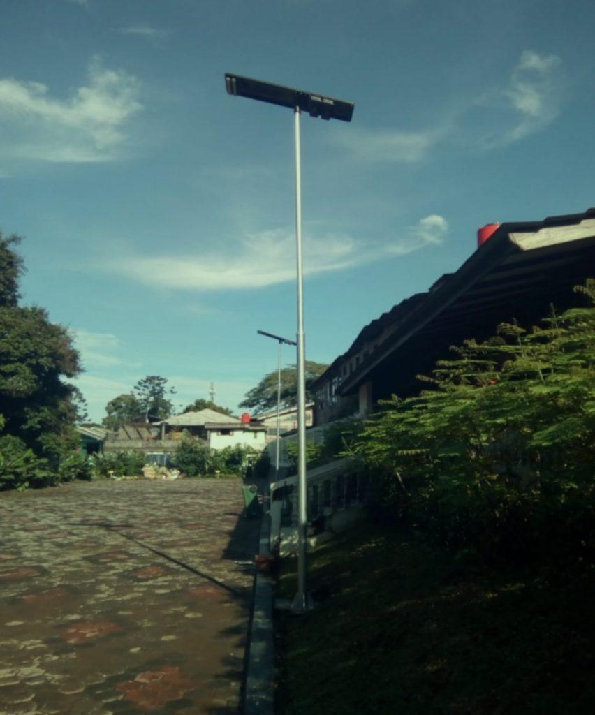 solar street light in Jakarta, Indonesia