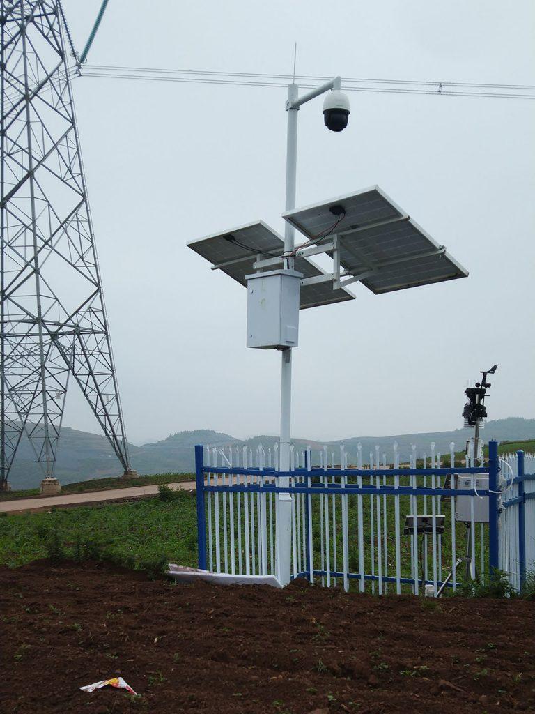 Solar Street Lights with CCTV camera 1