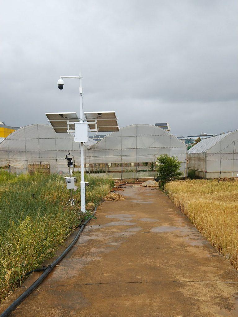 Solar Street Lights with CCTV camera 2