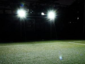 solar flood light for football sports