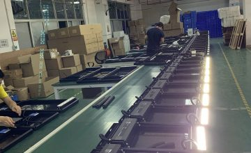 Solar flood light production